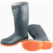 "Onguard Men's Boot, 16"" Sureflex Brown/Cream Steel Toe, PVC, Size 8"