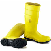 "Onguard Men's Boot, 16"" Dielectric II Yellow Steel Toe W/Ultragrip, PVC, Size 11"