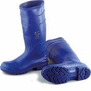 """Onguard Men's Boot, 16"""" Bluemax Blue/Cream Plain Toe, PVC, Size 10"""