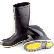 """Dunlop Men's Boot, 16"""" Flex 3 Black Plain Toe, PVC, Size 12"""