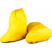 """Onguard Men's 15"""" Yellow Shoe Cover, PVC, Size Extra Large"""