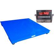 "Optima 916 Series NTEP Heavy Duty Pallet Digital Scale 48"" x 72"" 10,000lb x 2lb"