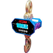 Optima Heavy-Duty LED Digital Crane Scale With Remote 40,000lb x 20lb