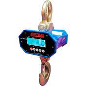 Optima Heavy-Duty LED Digital Crane Scale With Remote 6,000lb x 2lb