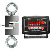 Optima LED Digital Hanging Scale 3,000lb x 0.5lb