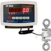 Optima LED Digital Hanging Scale 5,000lb x 1lb