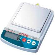 "Optima Compact Precision Balance Stainless Steel Pan 500g x 0.1g 5-11/16"" x 5-11/16"""