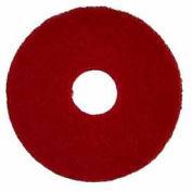 "Oreck® 12"" Polish Pad - Red, 5 Pads 437.055-c"