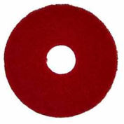 """Bissell Commercial 12"""" Polish Pad Red, 5 Pads 437.055-c"""
