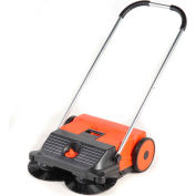"Haaga® 21"" Dual Brush Push Power Sweeper - HAAGA 255"