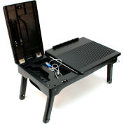 Origami RCTL-02 Laptop Tray, Collapsible, Plastic, Black