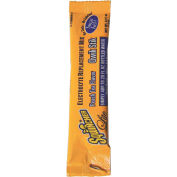 Sqwincher Zero Qwik Stik Sugar Free Individual 20 oz. Yield Packet - Peach Tea