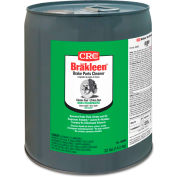 CRC Brakleen Non-Chlorinated Brake Parts Cleaners - 5 gal Pail - 05086 - Pkg Qty 5