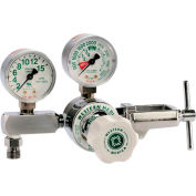 M1 Series Flow Gauge Regulator - Oxygen - 2-15 LPM - CGA-870 Yoke - 3000 PSI Inlet