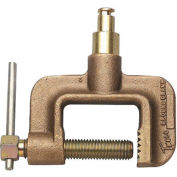 Ground Clamps - 600 A - Tweco Male Plug - C-Clamp