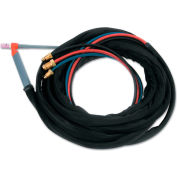 TIG Torch Water Cooled Kit - Angled Head - 25 Ft. Cable