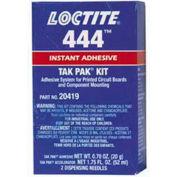 Loctite® 20419 444™ Tak Pak® Instant Adhesive Kit W/Accelerator, 20g