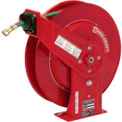 Gas-Welding Hose Reel with Hose - 50 Ft. - Retractable