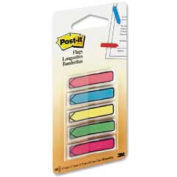 "Post-it® Arrow Flags, 1/2"" Wide, Assorted Bright, 100 Flags/Dispenser, 1 Dispenser/Pack"