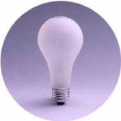 Sylvania 13125 Incandescent 150a21/Cl/Rp 120v A21 Bulb - Pkg Qty 12