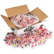 Office Snax Lick Stix Sucker, Assorted Flavors, 18 Lbs, 1440/Carton