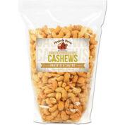 Office Snax Cashew Nuts, Roasted & Salted, 15 Oz