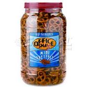 Office Snax Mini Twists Pretzels, Salted, 40 Oz