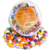 Office Snax Jelly Beans, Assorted Flavors, 2 Lbs, 12/Carton