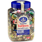Royal Toffee Candy, Assorted Toffees & Chocolate Eclairs, 2.75 Lbs