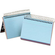"""Oxford® Spiral Index Cards 40286, 4"""" x 6"""", Assorted, 1 Each"""