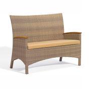 Oxford Garden® Torbay Love Seat, Antique Wicker