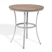 "Oxford Garden® Travira 36"" Cafe Bar Table, Tekwood Vintage"