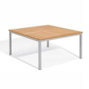 "Oxford Garden® Travira 60"" Square Dining Table, Teak"