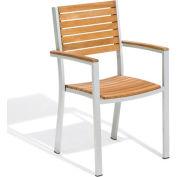 Oxford Garden® Travira Outdoor Armchair - Teak (Sold in Pk. Qty 2)