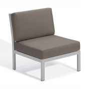 Oxford Garden® Travira Modular Side Chair, Stone