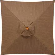 Oxford Garden® Sunbrella® Outdoor Market Umbrella - 9' - Dupione Walnut