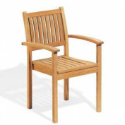 Oxford Garden® Warwick Stacking Outdoor Armchairs (2 pk)