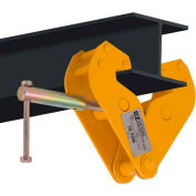 "OZ Lifting OZ10BC Beam Clamp 10 Ton Cap., Fits Beam Flange Range 3.54""-12.60"""