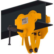 OZ Lifting OZ1BTC Beam Trolley with Clamp 1 Ton Capacity