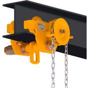 OZ Lifting OZ1GBT Geared Beam Trolley 1 Ton Capacity