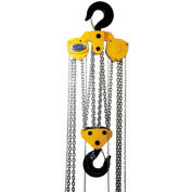 OZ Lifting Manual Chain Hoist With Std. Overload Protection 20 Ton Cap. 10' Lift