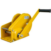 OZ Lifting OZ2000BW Carbon Steel Hand Winch with Brake 2000 Lb. Capacity