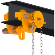 OZ Lifting OZ3GBT Geared Beam Trolley 3 Ton Capacity