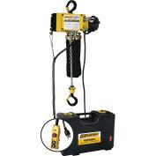 OZ Lifting 1/4 Ton, Electric Chain Hoist, 20' Lift, 12.5 FPM, 110V