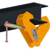 "OZ Lifting OZ5BC Beam Clamp 5 Ton Capacity, Fits Beam Flange Range 3.54""-12.60"""