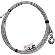 """OZ Lifting 1/4"""" Stainless Steel Cable Assembly for COMPOZITE Davit Crane"""