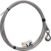 "OZ Lifting 1/4"" Stainless steel cable assembly for Davit Cranes"