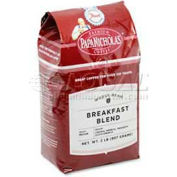PapaNicholas Premium Breakfast Blend Coffee, Regular, Arabica Bean, 2.5 oz., 18/Carton