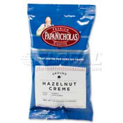 PapaNicholas Premium Hazelnut Crème Coffee, Regular, Arabica Bean, 2.5 oz., 18/Carton