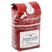 PapaNicholas Hawaiian Blend Coffee, Regular, Arabica Bean, 32 Oz.
